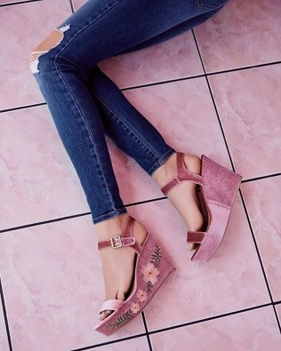 image by charlotterusse containing footwear, shoe, high heeled footwear, leg, human leg