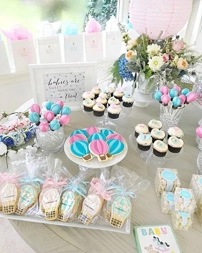 Image By Fashionablehostess Containing Cake Decorating Icingercream Sweetness Baby Shower