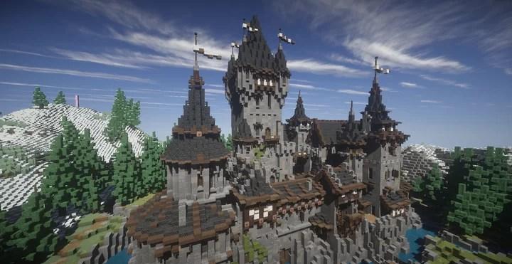 Castle De Poindestre German Castle Minecraft Map