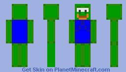 Pepe The Meme Frog Minecraft Skin
