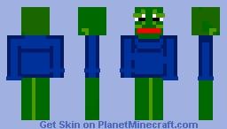 Pepe Minecraft Skins Planet Minecraft Community