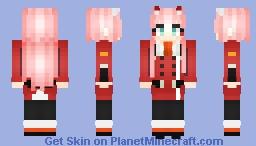 Zero Two Minecraft Skin Import