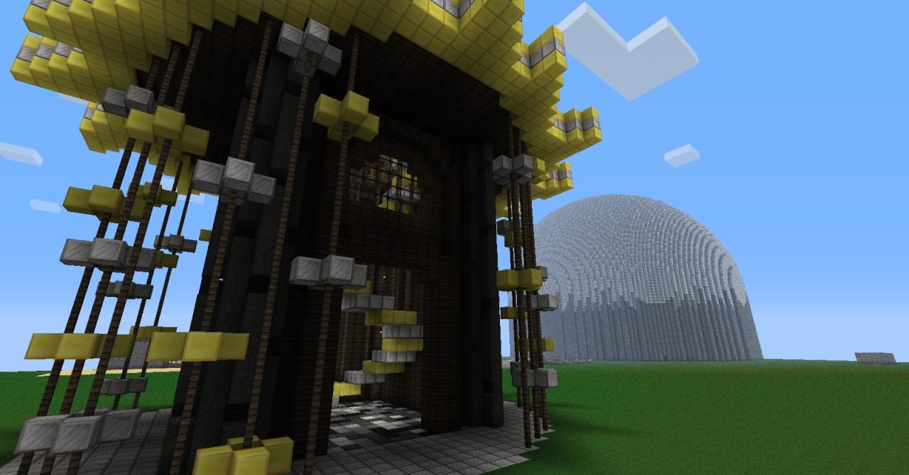 Steampunk Clock Tower Minecraft Project