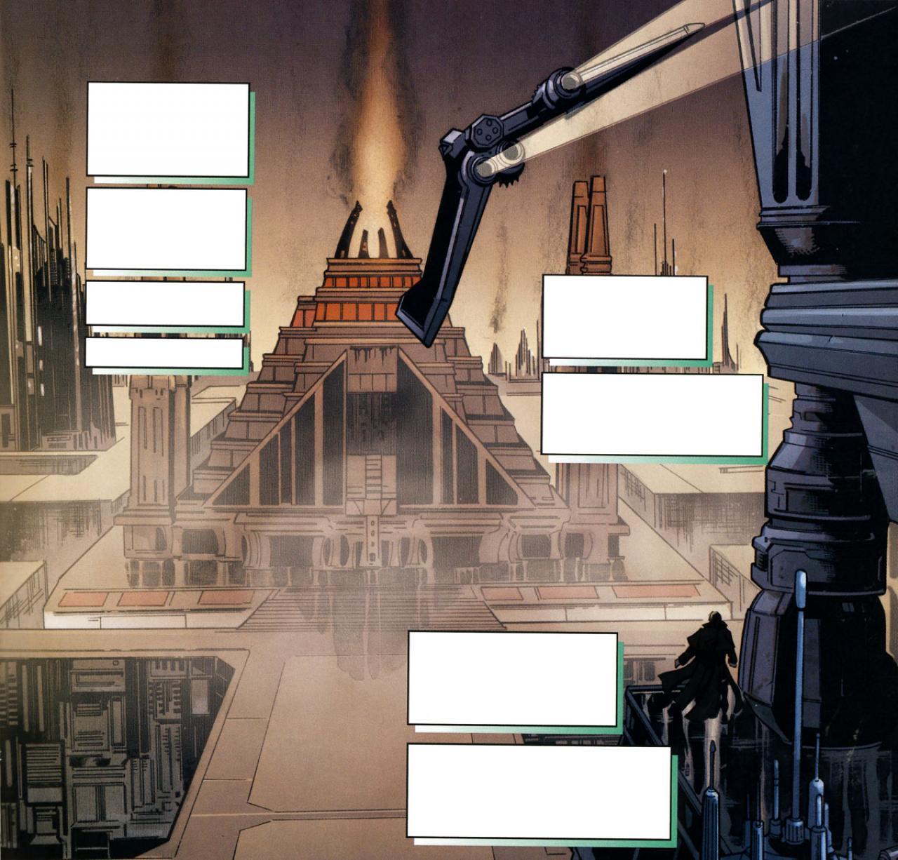 Star Wars Minecraft Temple