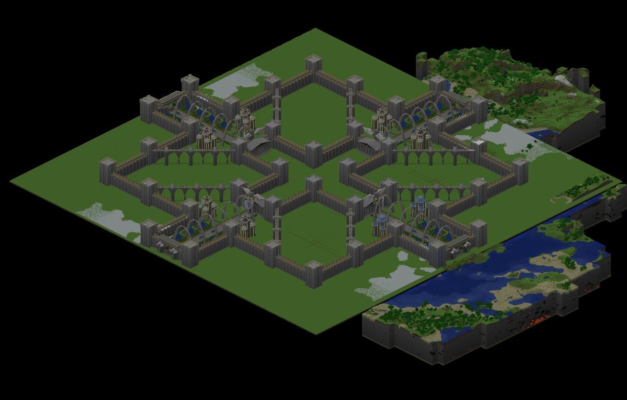 Isenheim Castle Minecraft Project
