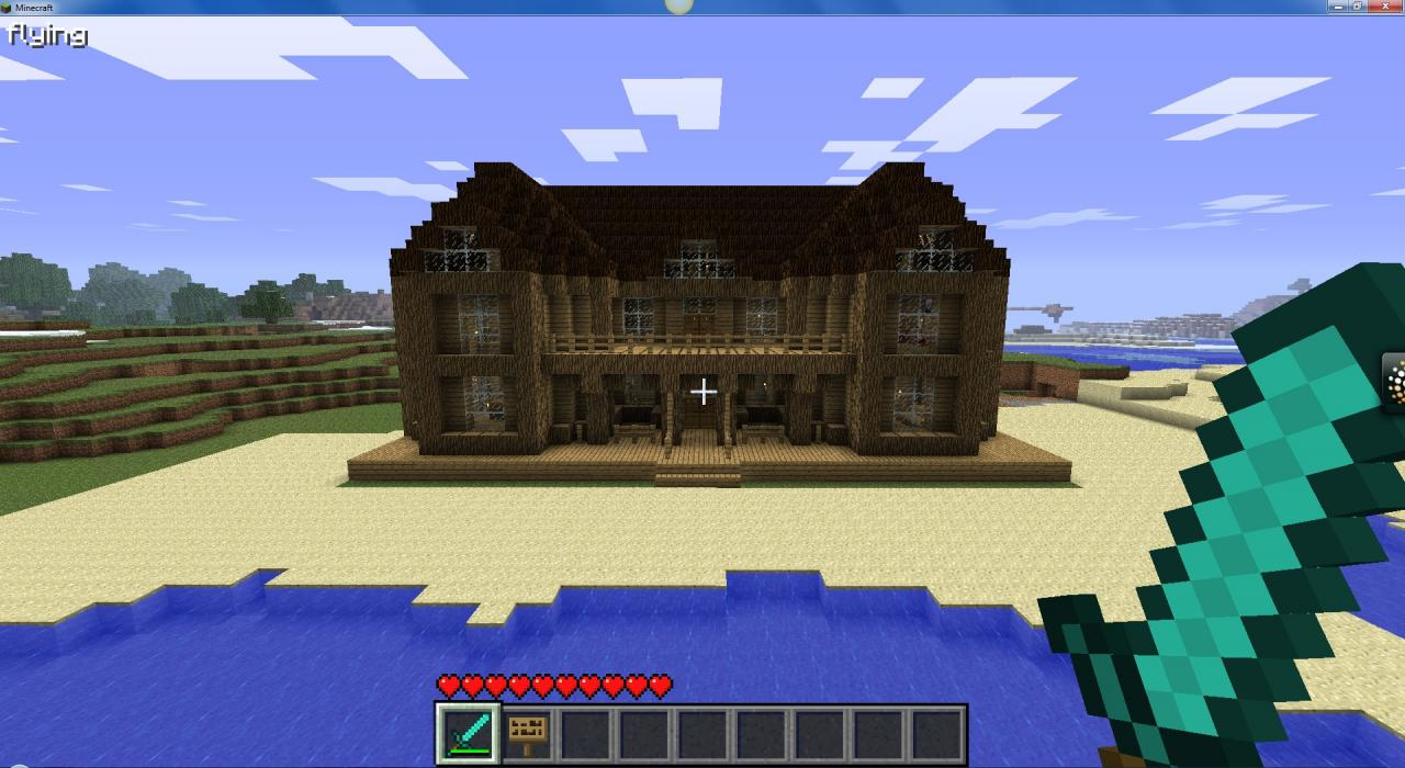 My Big Mansion Minecraft Project