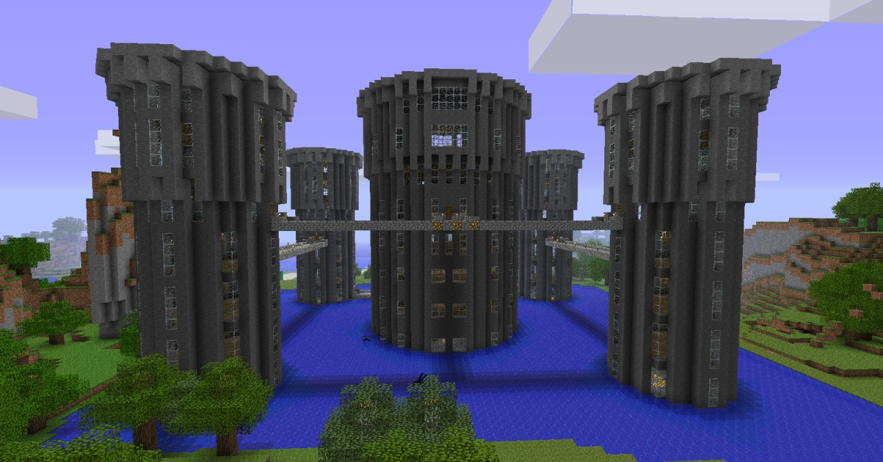 5 Towers Castle Minecraft Project