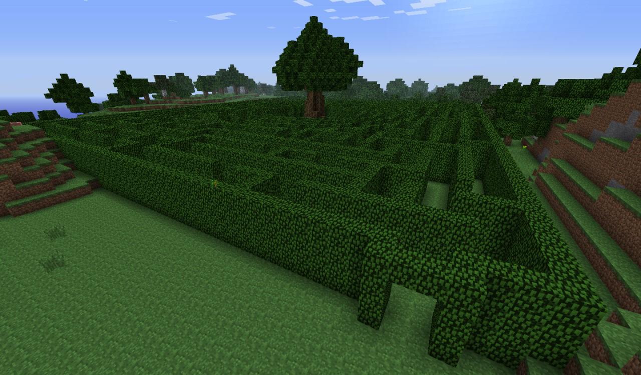 Hedge Maze Minecraft Project