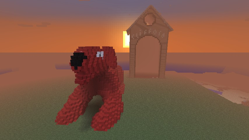 Clifford The Big Red Dog Minecraft Project