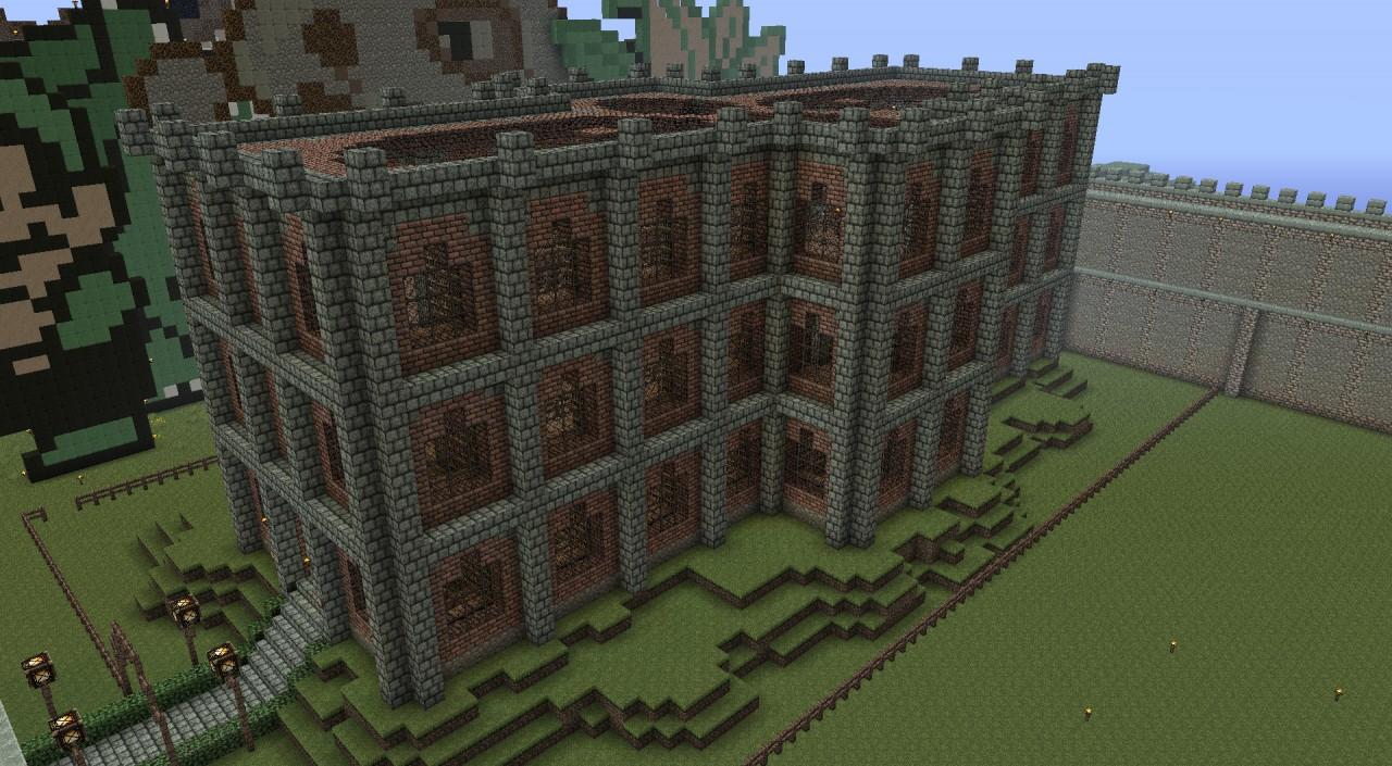 Public Brick Library Of Rageland Minecraft Project