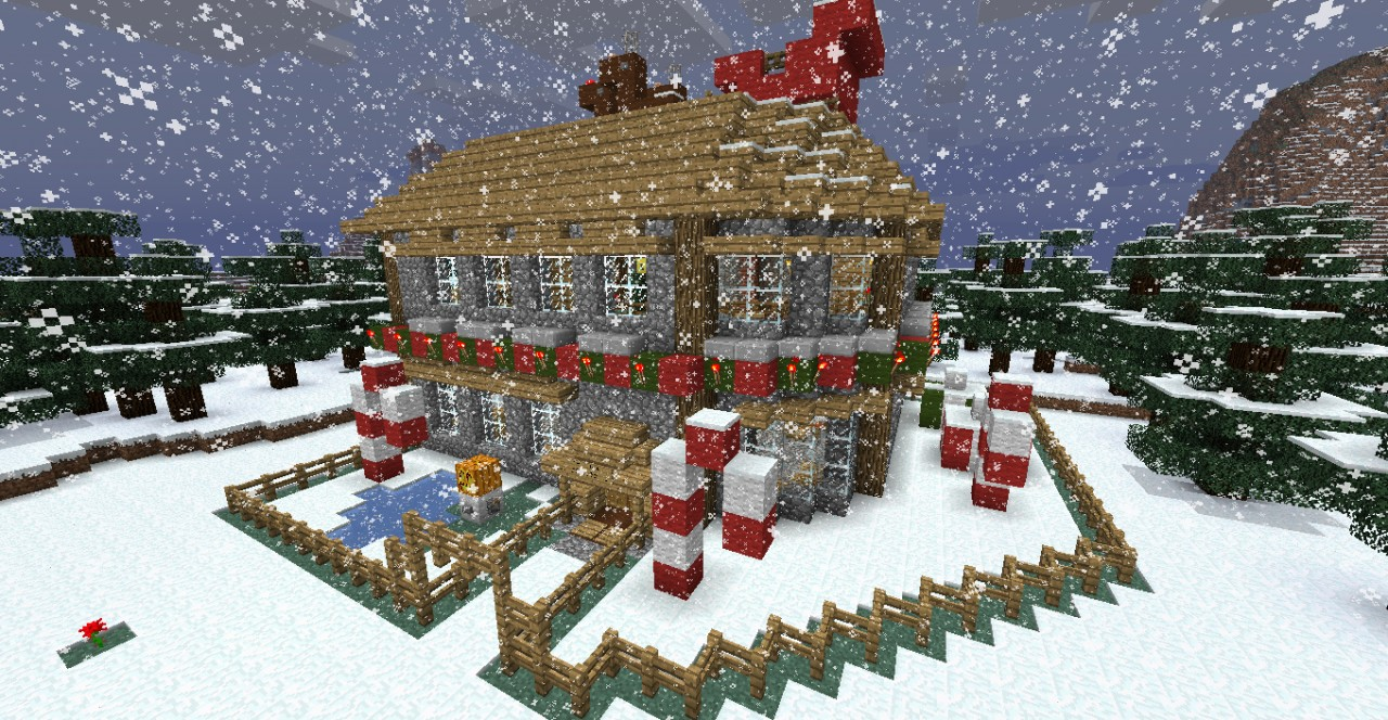 Christmas Buildings Minecraft Project