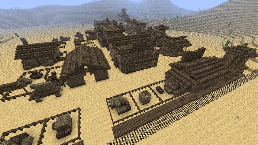 Red Dead Redemptions Armadillo Minecraft Project