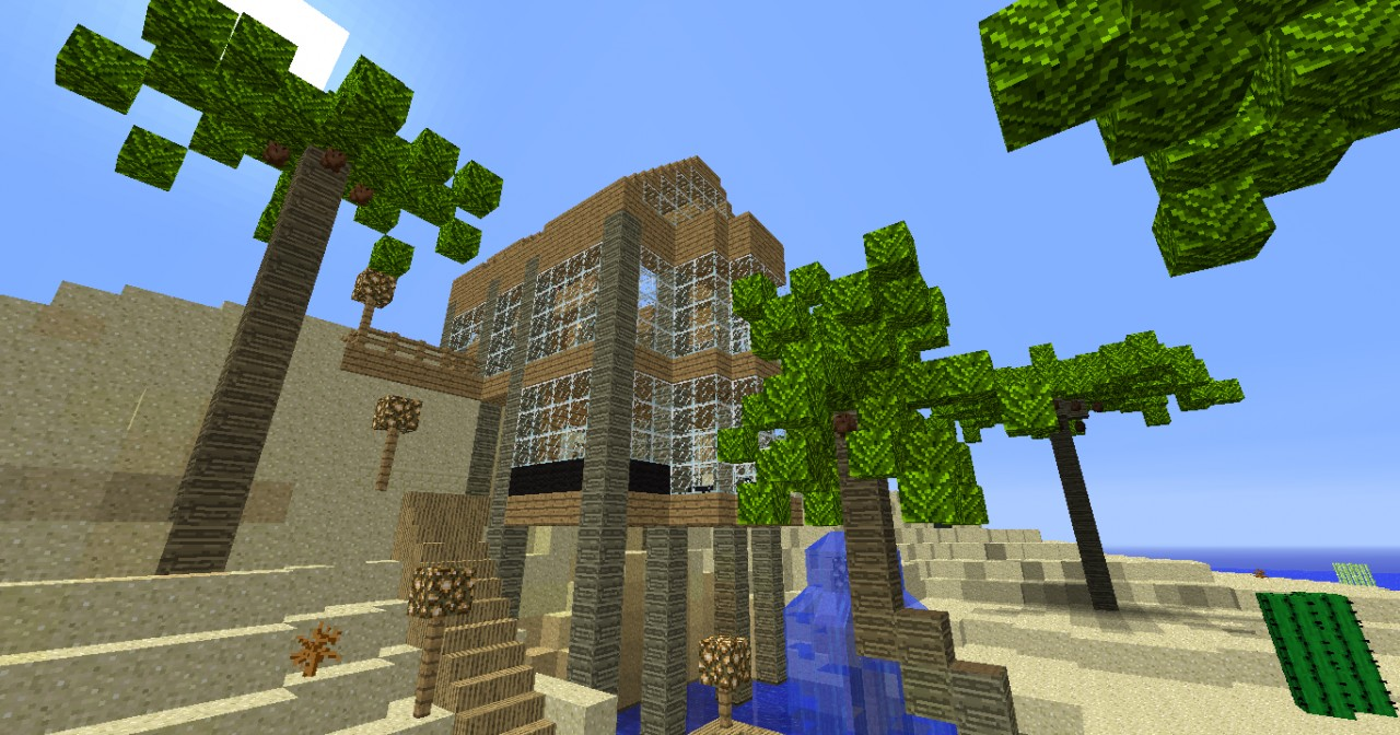 Tropical House Minecraft Project