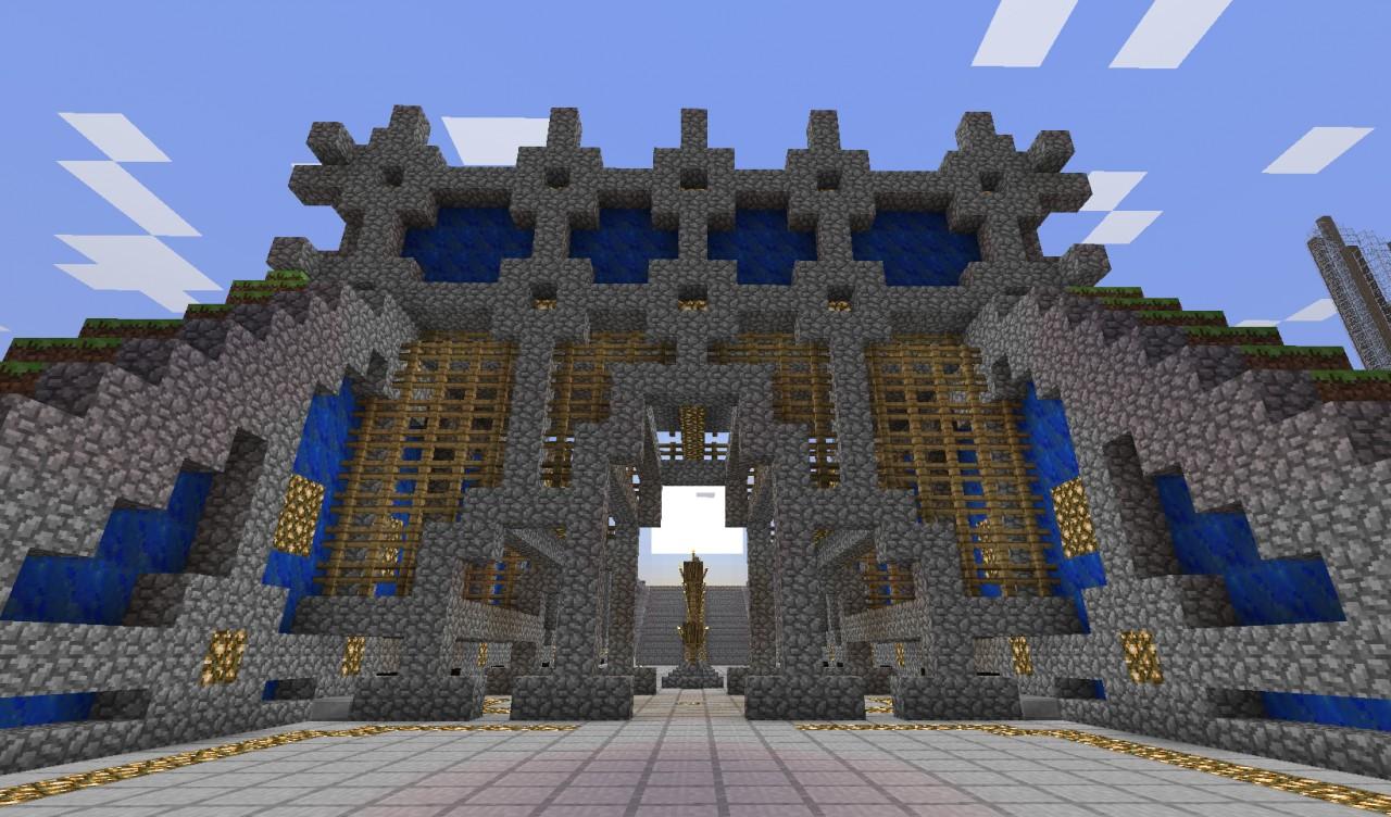 Entrance Gate Minecraft Project