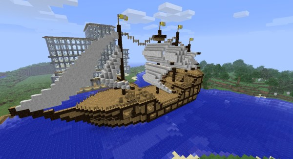 pirate ship minecraft # 27