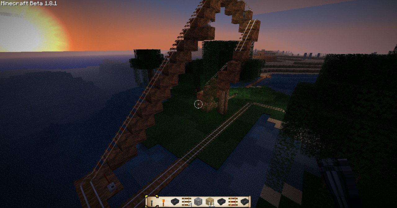 Massive Roller Coaster Save Minecraft Project