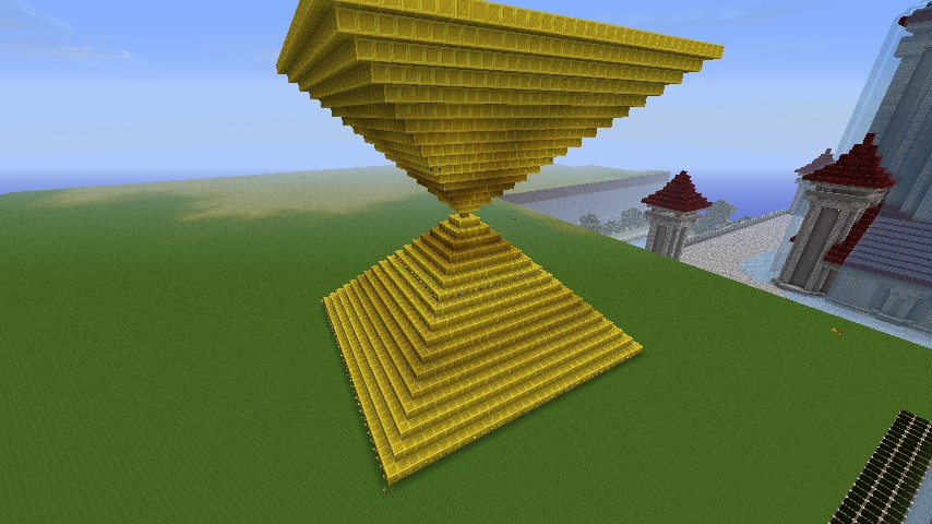 Inverted Pyramid Minecraft Project