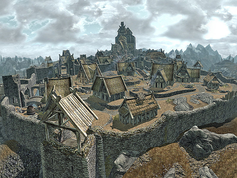 Skyrim, The Elder Scrolls V Minecraft Project