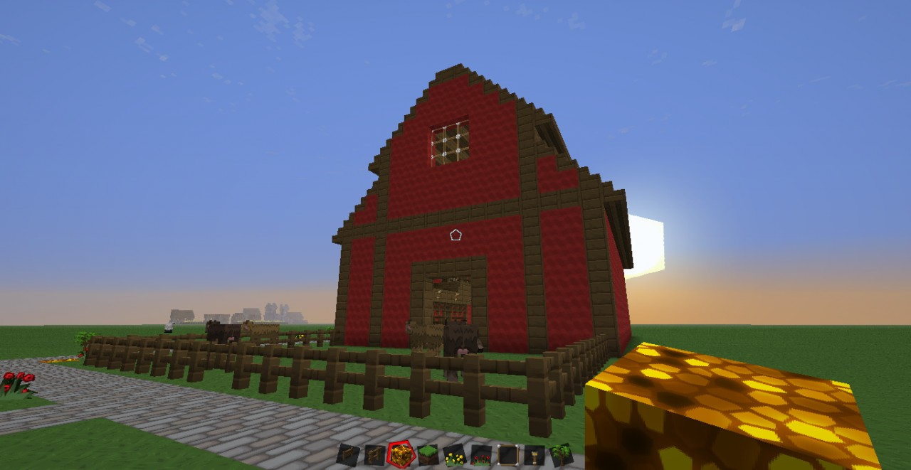 Red Barn Minecraft Project