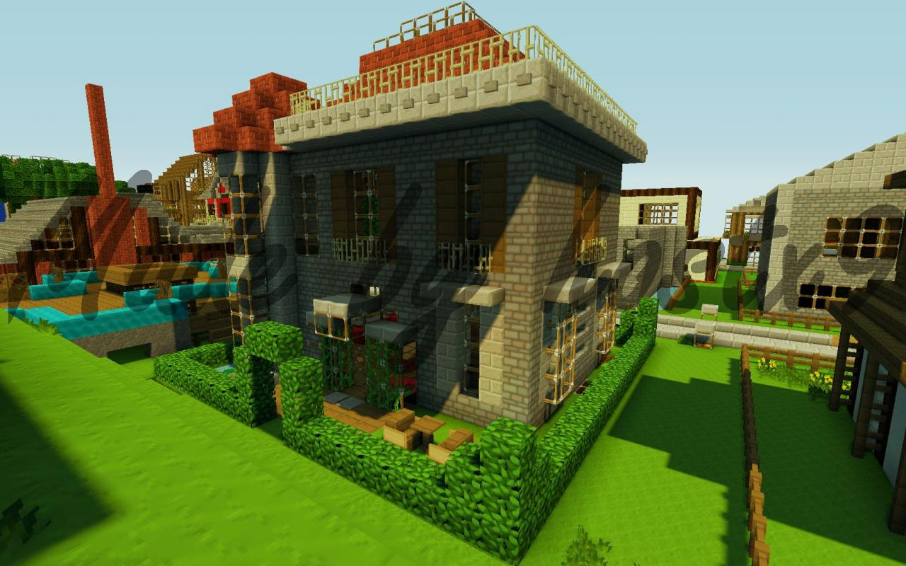 My English Mansion Minecraft Project