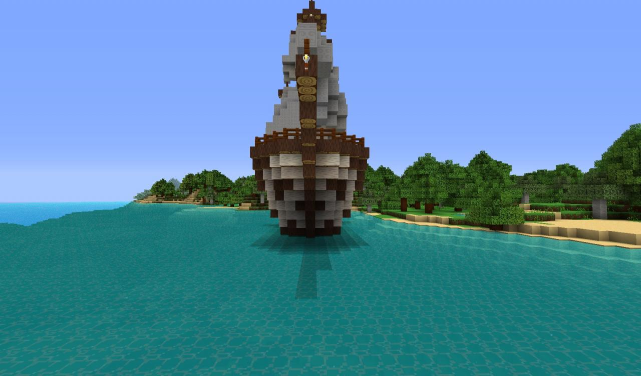 Pirate Ship Arcadia Minecraft Project