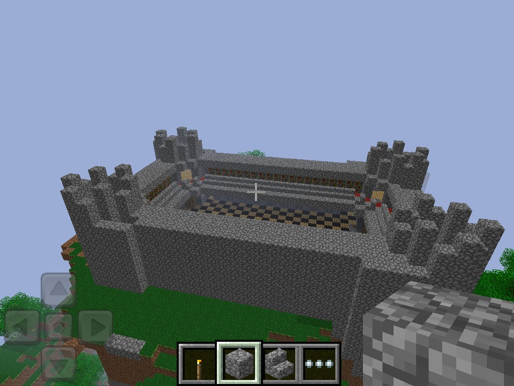 Minecraft PE Castle Minecraft Project