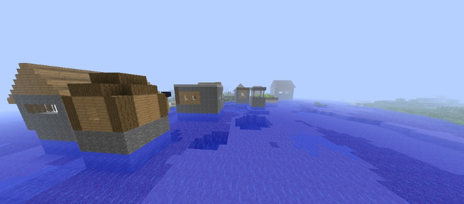 Water Village Seed Minecraft Project