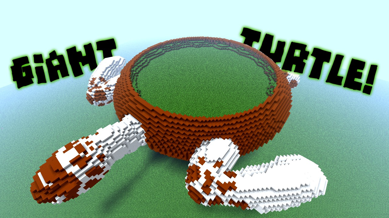 Giant Turtle Empty Minecraft Project
