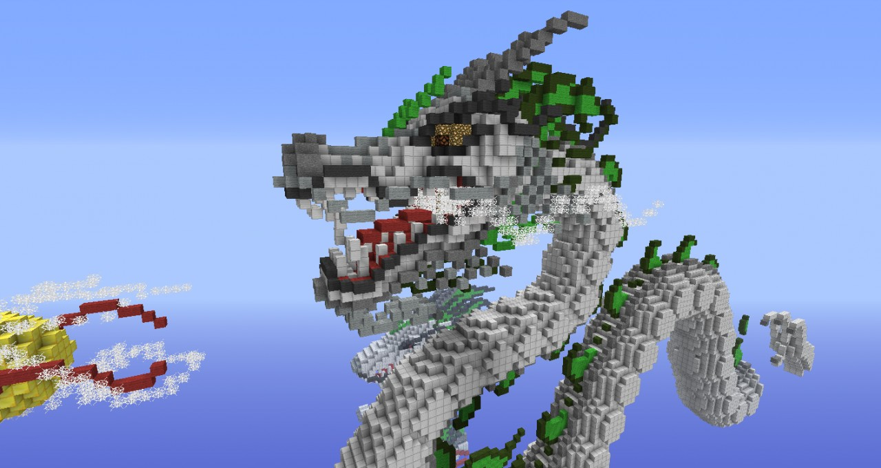 Chinese Dragon 2nd Revision Minecraft Project