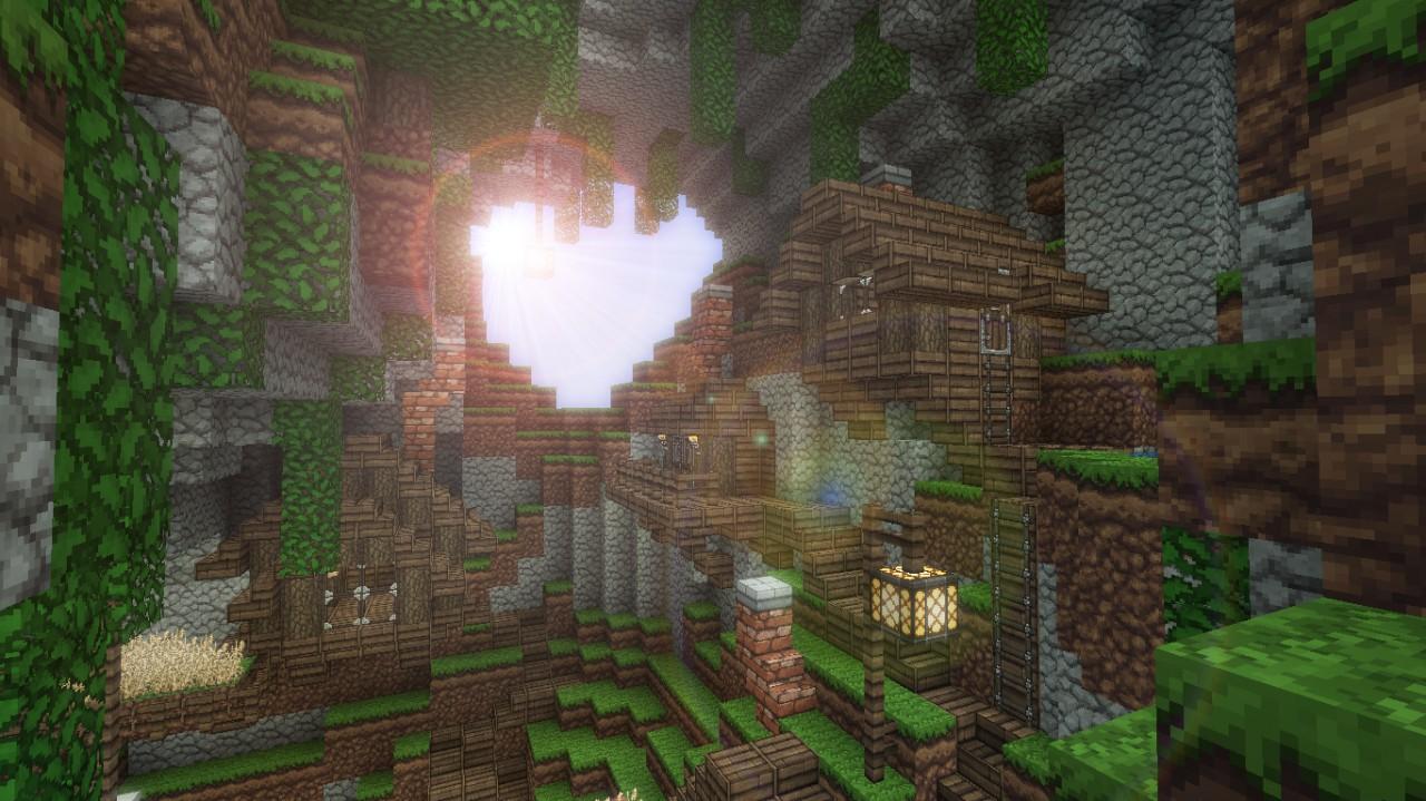 Tree Village DOWNLOAD Minecraft Project