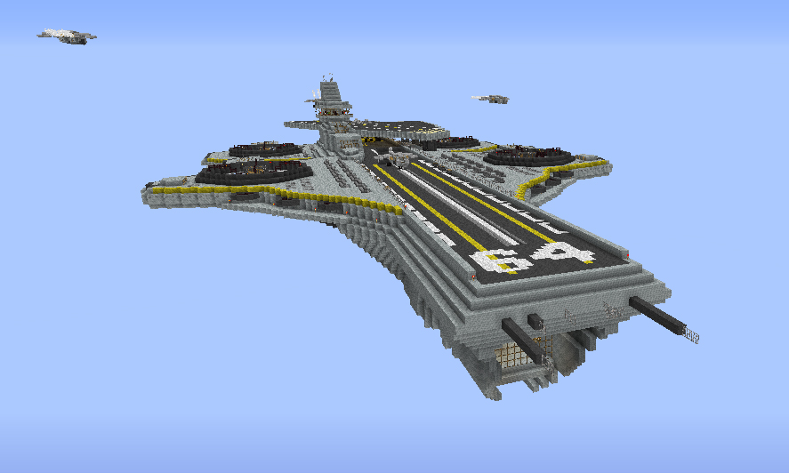 Helicarrier SHIELD From The Avengers The Movie