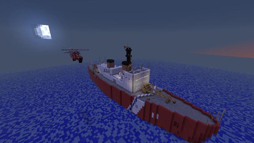 Polar Sea IceBreaker Minecraft Project