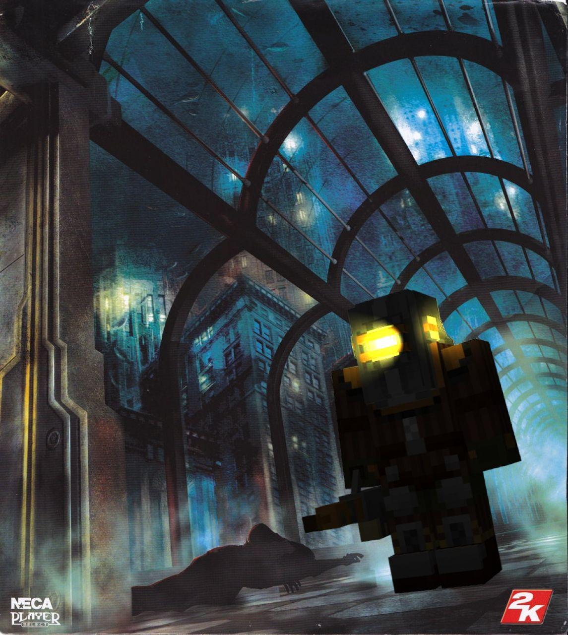 Bioshock Mobs Big Daddy Rosie Minecraft Project