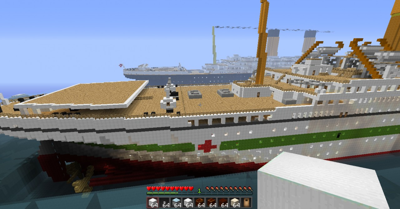 HMHS Britannic Minecraft Project