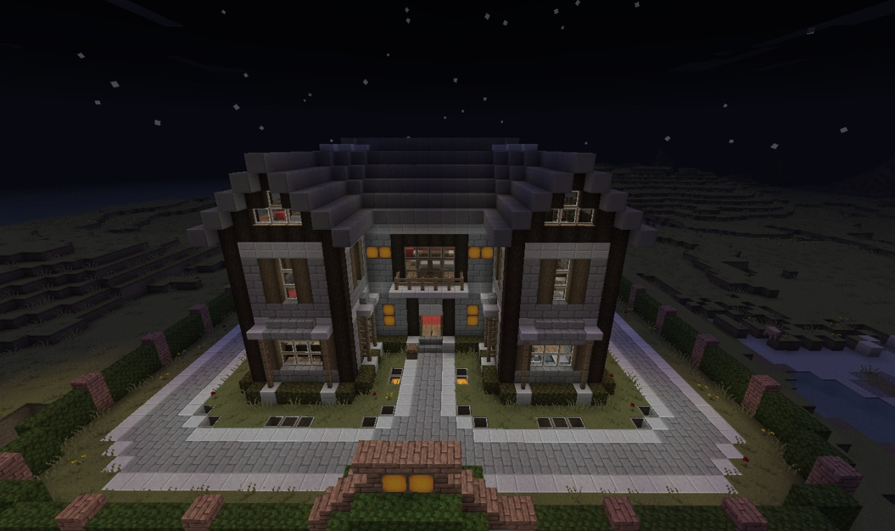 Pretty House Easy Beginning Survival Now With The Save Minecraft Project