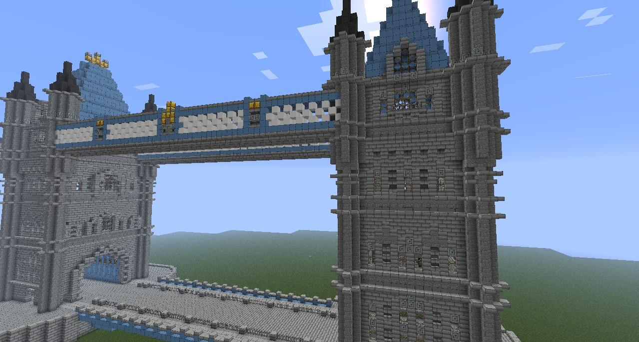 London Tower Bridge Minecraft Project
