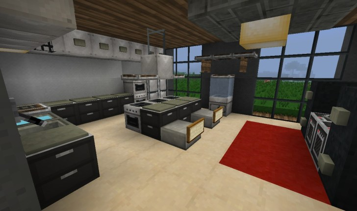 Brilliant Minecraft Kitchen Design That Look Like A Little Paradise