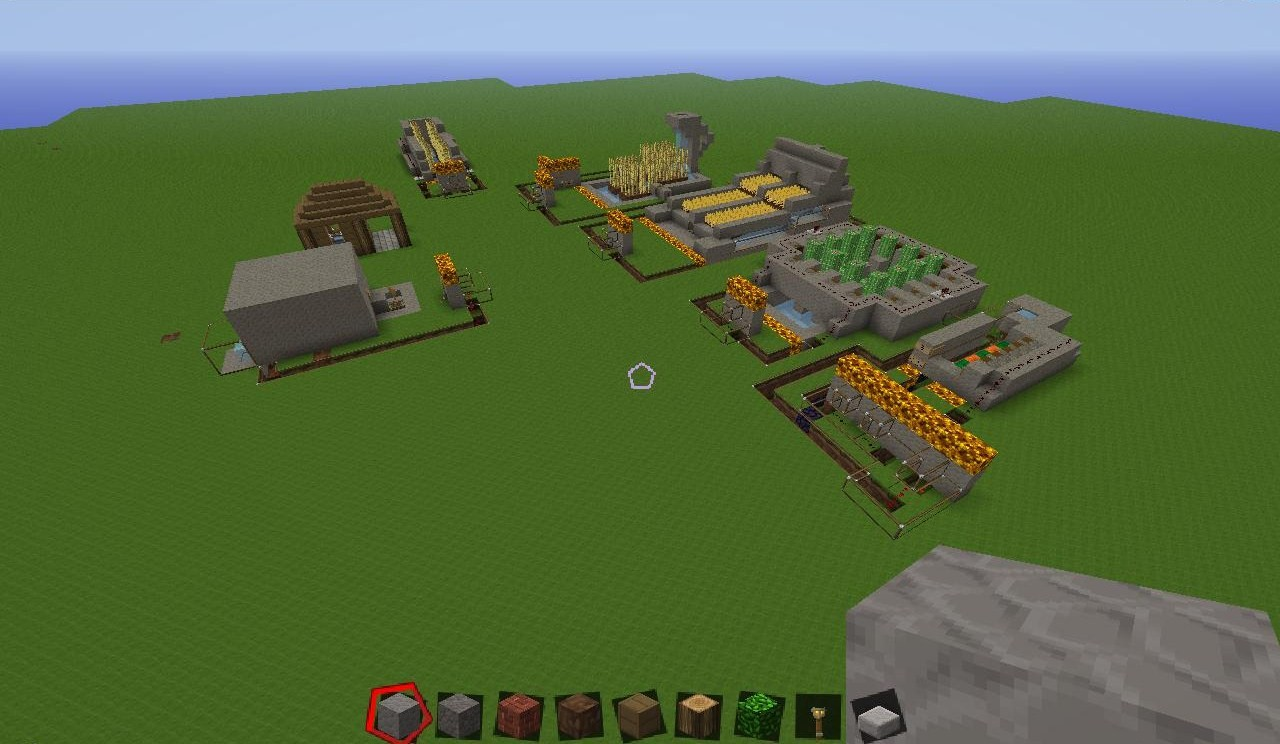 The Redstone Farms Minecraft Project