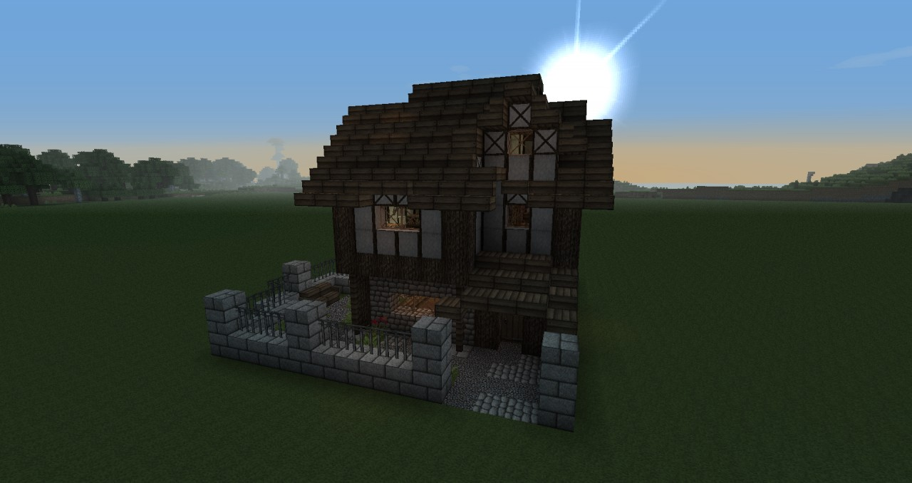 Medieval Middleclass House Minecraft Project