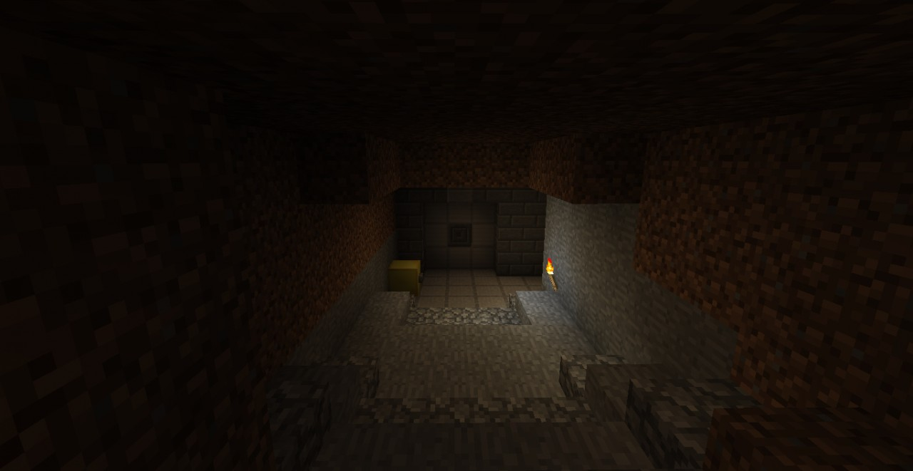 Fallout 3 Vault 101 Minecraft Project