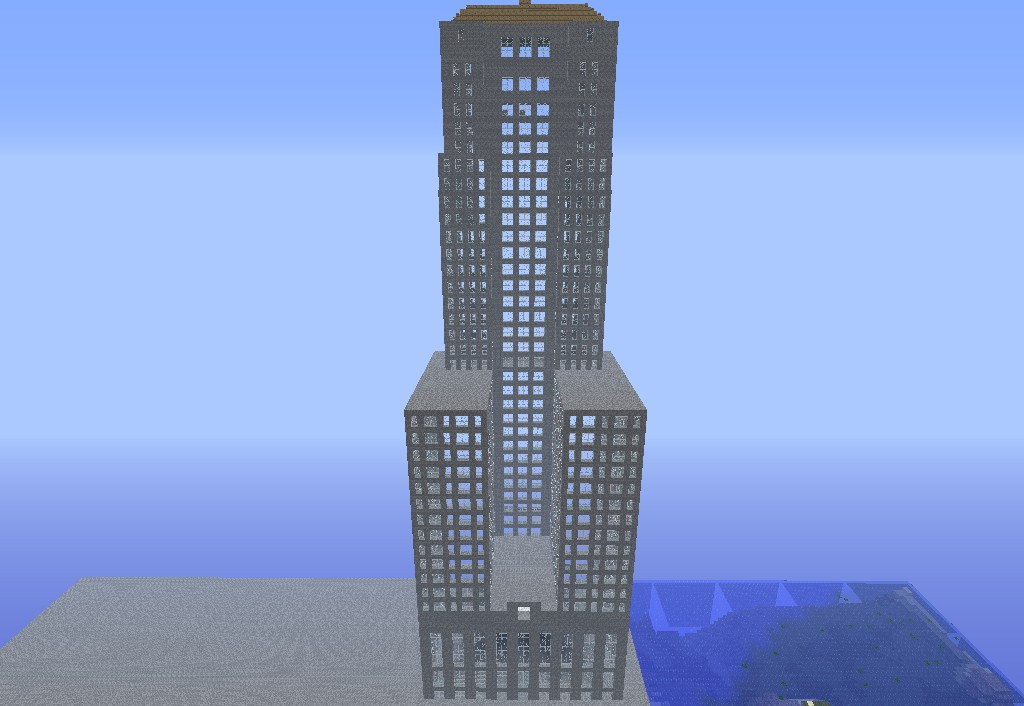 Wayne Tower From Batman Minecraft Project