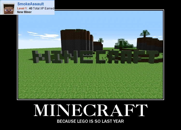 Minecraft Is Just A Step Up From Lego Minecraft Blog