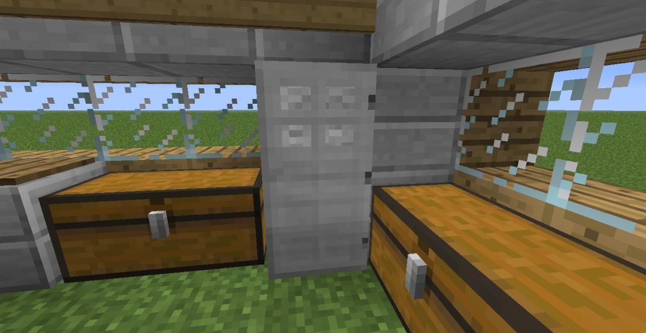 Modern Kitchen Minecraft Project