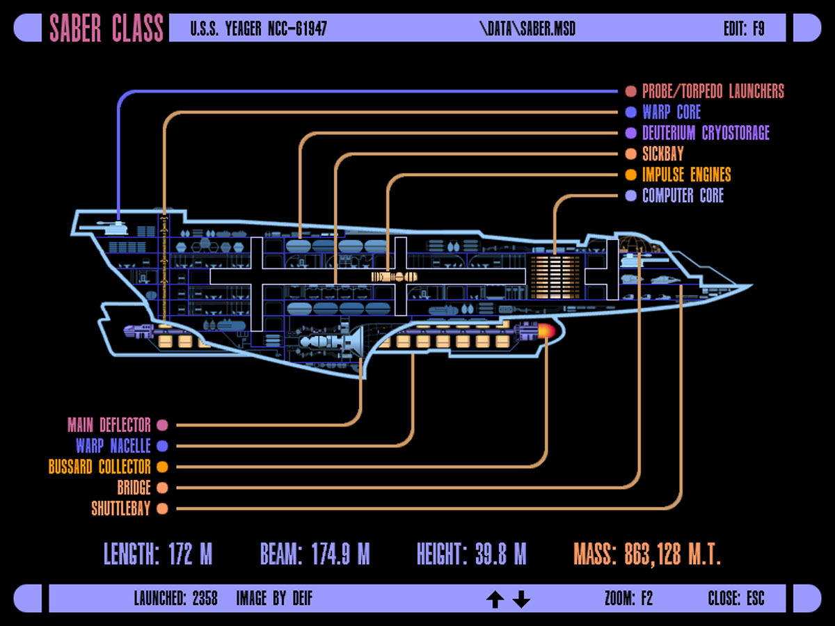 Starship Deck Plan Creator