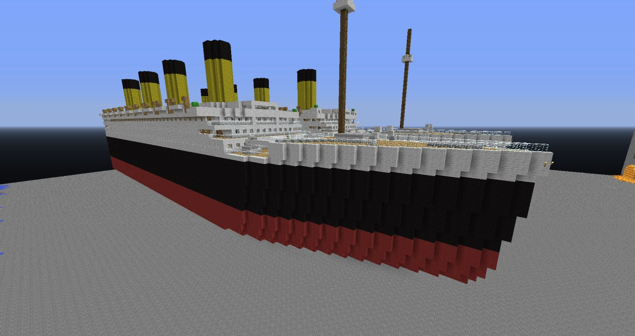 RMS Olympic Minecraft Project
