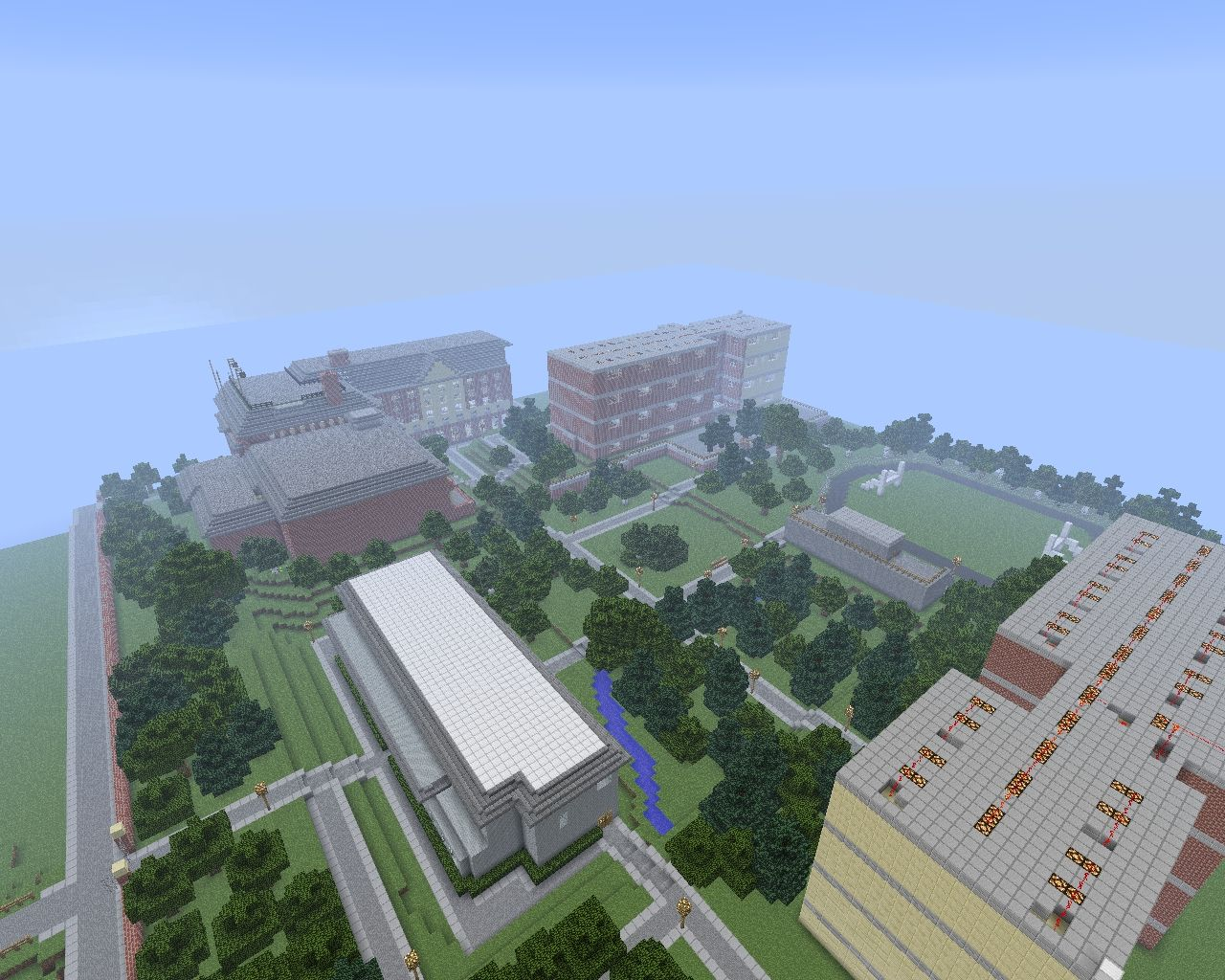 Yamaku Academy Now With World Save Minecraft Project