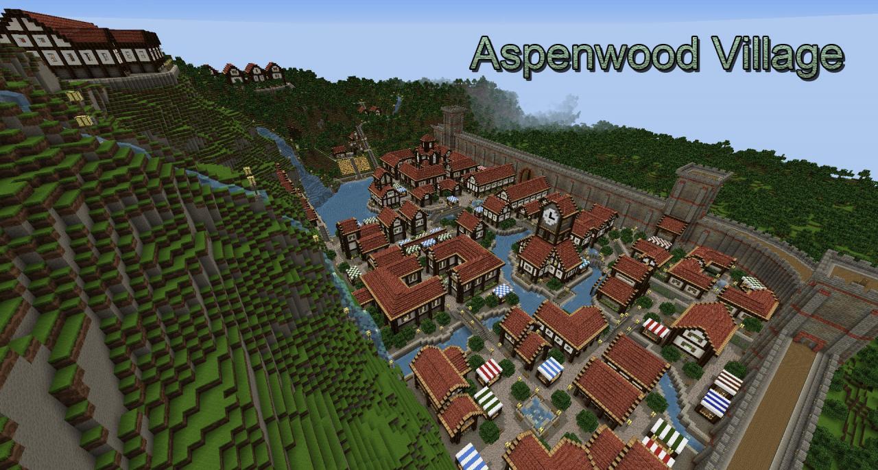 Cool Minecraft Village Ideas