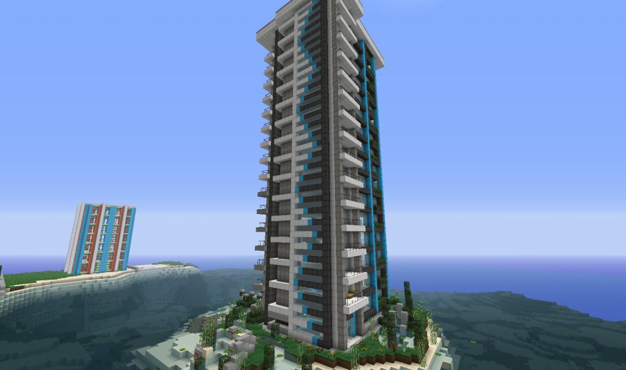 A Modern Skyscraper [WoK] Minecraft Project