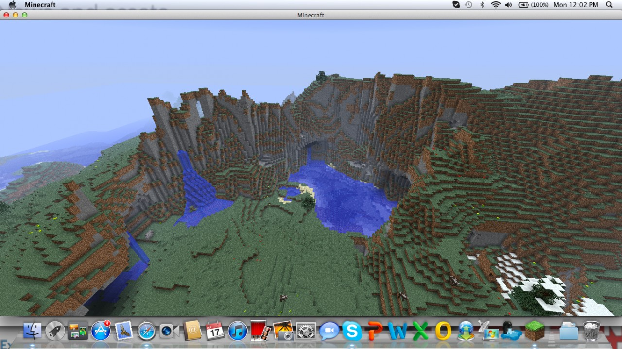 Beautiful Mountain Biome Minecraft Project