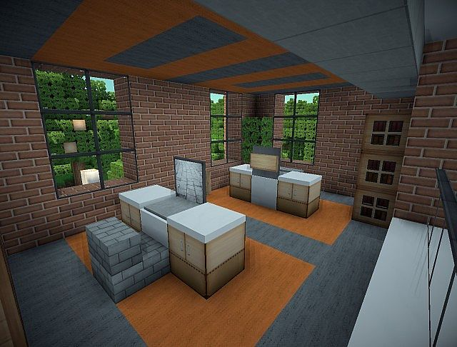 Z3s Modern Office Minecraft Project